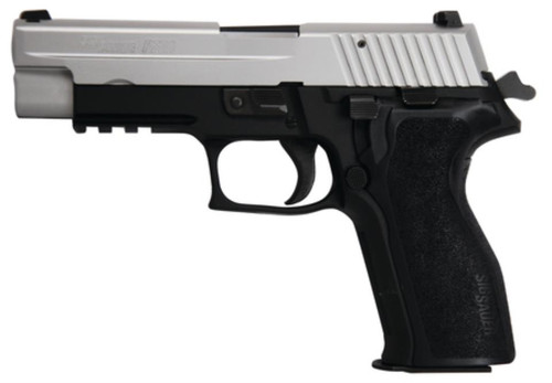 SIG P226 .40 S&W 4.4 Barrel Night Sights Two-Tone E2 Grips 10rd Mag - MA Compliant