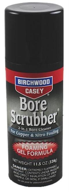 Birchwood Casey Bore Scrubber Foaming Gel Cleaner 11.5 oz