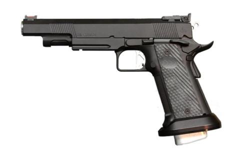"Dan Wesson Elite Series Mayhem .40 S&W, 6"" Barrel, Black, Adj. Sights, FO Front, 17rd Mags"