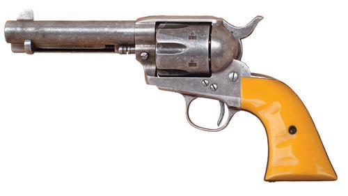 Cimarron Rooster Shooter Colt SAA 45LC John Wayne Replica