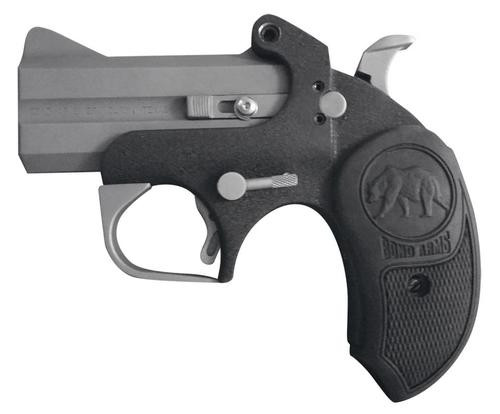 "Bond Arms Big Bear CA Comp Derringer Break Open 45LC 3"" Rubber SS"