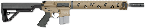 "Rock River ARMS LAR-15 Fred Eichler Series Predator 2 AR-15 5.56/223 16"" Barrel Mid Length Tan 20 Rd Mag"