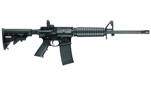 "Smith & Wesson M&P15 Sport II AR-15 5.56mm, 16"" Barrel, Forward Assist, Dust Cover, 30rd Mag"
