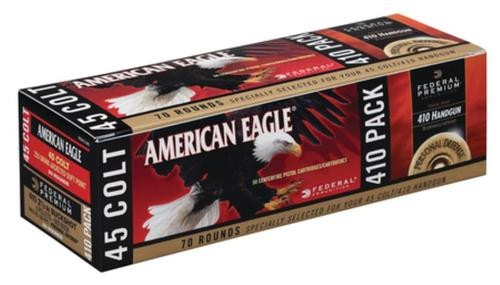Federal Personal Defense Combo Pack Hydra-Shok/American Eagle .410 Gauge/.45 Colt 225 Grain 70 Rounds Total