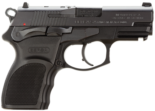 Bersa Thunder Pro Ultra Compact .40 Smith & Wesson 3.6 Inch Barrel Matte Finish Black Polymer Grips 10 Rounds