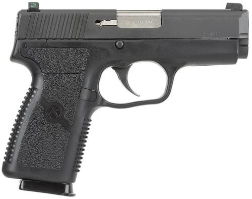 "Kahr Arms Model P9 9Mm 3.6"" Barrel Tritium Night Sights, Matte Black Stainless Slide, 7 Round Mag"