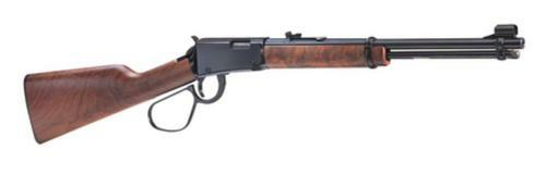 "Henry Lever Carbine Lever 22 S/L/LR 16.12"" Barrel Walnut Stock Blue"