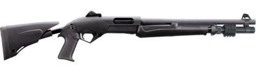 """Benelli SuperNova LEO 12 Ga Pump Shotgun, 18"""" Barrel Tele-Stock"""