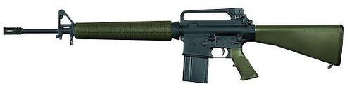 Armalite AR10A2B 308 Black Rifle