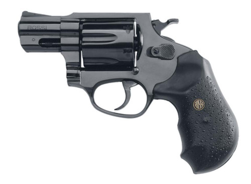 "Rossi Revolver 357 Mag 2"" 6rd Black Rubber Grip Blue Steel"