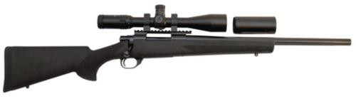 """Legacy Hogue/TargetMaster Combo .308 Winchester 20"""" Heavy Fluted Barrel Blue Finish Black Hogue Stock 5rds With 4-16x44mm Target Master Riflescope Illuminated Mil-Dot Reticle and Rings"""