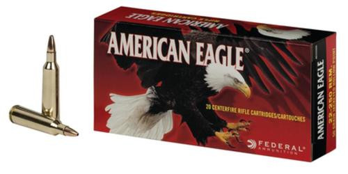 Federal American Eagle .22-250 Remington 50gr, Jacketed Hollow Point 20rd Box