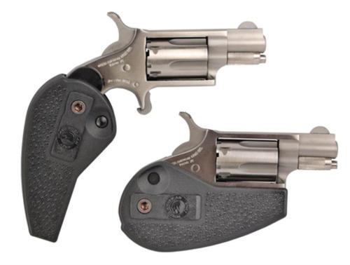 "NAA HGBLR 22 Holster Grip 22LR 1.12"" 5rd Black Holster Grip SS"