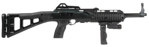 "Hi-Point Carbine .40 SW 17"" Barrel Skeletonized Stock Forward Folding Grip & Light 10 Rd Mag"