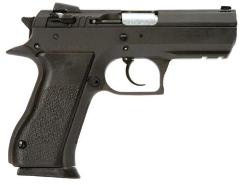 Magnum Research Baby Eagle Semi Auto 45 ACP Compact Steel Black, Rail, 10rd