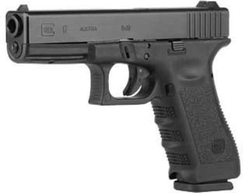 "Glock G17 Gen3, 9mm, 4.49"", 17rd, Black, USA Made"