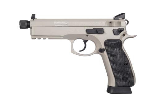 CZ 75 SP-01 Tactical 9mm, Urban Grey, Suppressor Ready, 10+1,