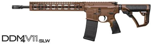 "Daniel Defense DDM4 V11 SLW, .223/5.56, 14.5"", 10rd, CA Legal, 12"" Keymod Rail"