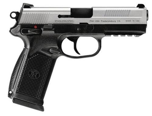 "FN FNX-45 USG 45 ACP 4.5"" Two Tone, Combat Sights, 15 Round"