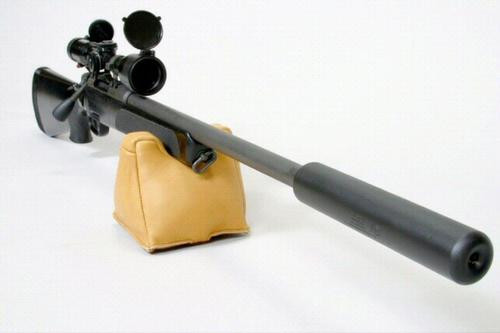 AAC Cyclone Rifle Silencer 7.62mm NATO 9.5 Inches 5/8-24 TPI Thread Mount - All NFA Rules Apply