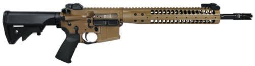 """LWRC M6.8-SPR 6.8mm SPC 14.7"""" Barrel (16"""" OAL) Modular M6 9"""" Rail LWRCI Stock MOE+ Grip Flat Dark Earth 30rd"""