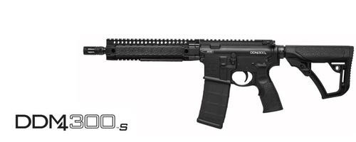 "Daniel Defense DDM4 300S SBR, .300 Blackout, 10.3"", 30rd, Black, ALL NFA RULES APPLY"