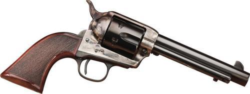 Taylors Smoke Wagon Short Stroke Navy Grip Single 45 Colt