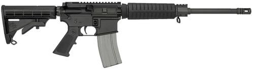 "Rock River Arms LAR-15 CAR A4 Flat Top AR-15 5.56/223 16"" Barrel Optic Ready, Gas Block Sight Base, 30 Rd Mag"