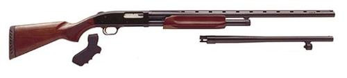 "Mossberg 500 Field/Security Combo Pump 12 Ga 28""/18.5"" Barrel, Wood Stock, 6rd"