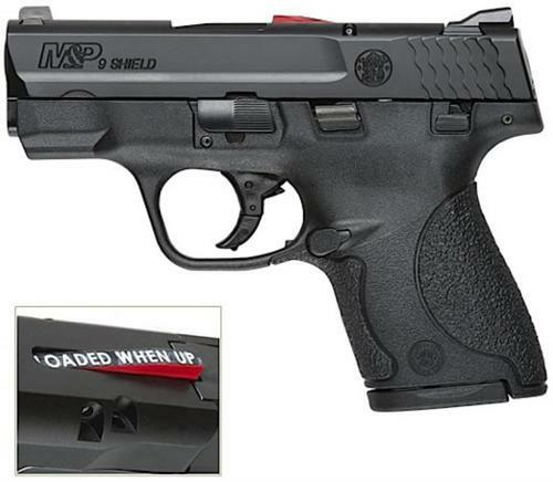 "Smith & Wesson M&P9 Shield 3"" Barrel CA Compliant Model, 7 and 8 Rnd Mag"