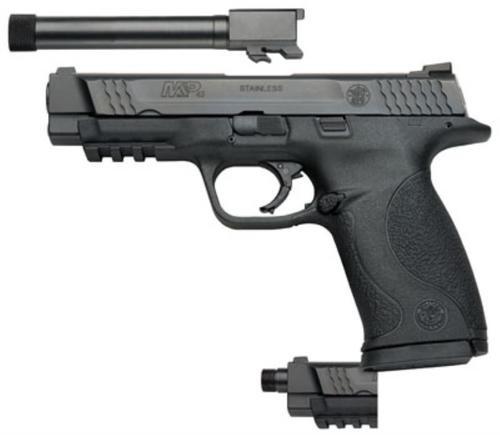 "Smith & Wesson M&P45 Threaded 2Barrel Kit 45 ACP 4.5"" Barrel Plus Extra Threaded Barrel 10rd Mag"