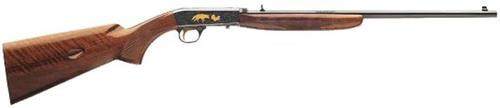 "Browning SA-22 Grade VI, 22LR, 19.25"", 11rd, Gloss American Walnut, Blued, 24 Karat Gold Engraving"
