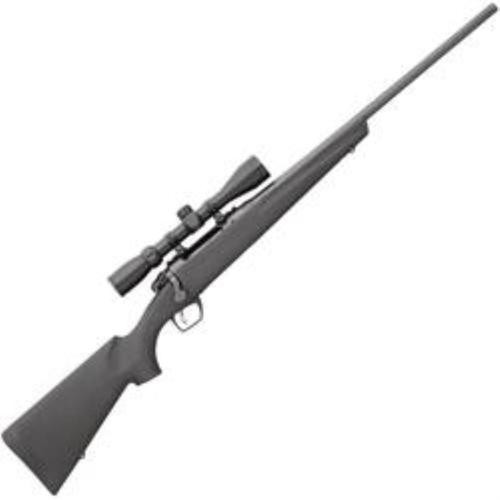 Remington 783, 3-9x40mm Scope 7mm Rem Mag Bolt 24,  Synthetic Black Stock,  3 rd