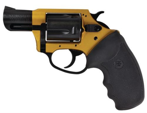 """Charter Arms Undercoverette .32 H&R 2"""" Barrel Gold and Black 5rd"""