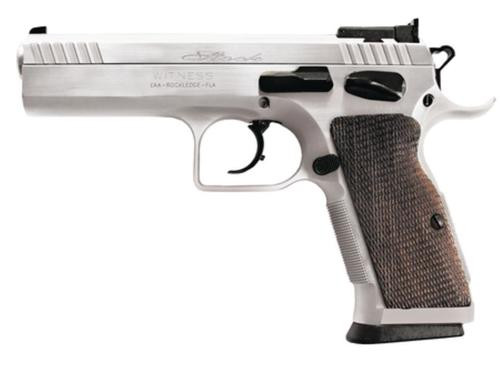 """EAA Witness Elite Stock 2 .40 Smith & Wesson 4.5"""" Barrel Competition Hard Chrome 15rd"""