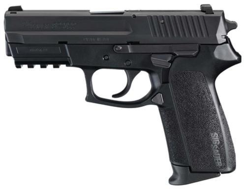 "Sig Sauer, SP2022, Semi-automatic, DA/SA, Compact, 9mm, 3.9"" Barrel, Polymer Frame, Black Color, Right Hand, Decocker, Siglite Night Sights, 15Rd, 2 Magazines"