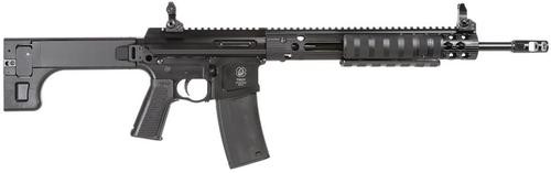 "Troy PAR Sporting Rifle Pump 223Rem/5.56 16"" MB,  5Pos Stock Black,  10 rd"