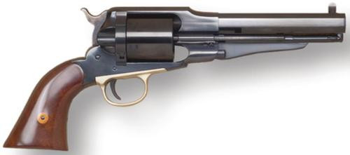 "Cimarron 1858 New Model Army .45 Long Colt 8"" Barrel Standard Blue Finish Walnut Grip"