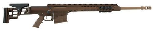 "Barrett MRAD Multi Role Adaptive Design .338 Lapua Magnum 24.5"", Multi-Role Brown, 10 Round Mag"