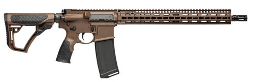 "Daniel Defense DDM4 V11 Milspec+ 300 BO/Whisper 16"" Barrel Brown Cerakote 30 Rd Mag"