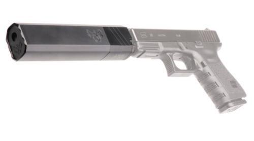 Silencerco 9 Osprey Suppressor, Body Only, No Piston