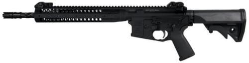 """LWRC Improved Carbine SPR Platform 5.56/223 14.7"""" Helical Fluted Barrel, Permanent Flash Hider (16"""") 30 Rd Mag"""