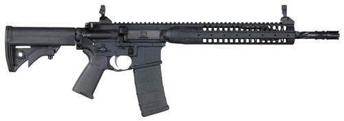 "LWRC Improved Carbine SPR Platform 5.56/223 14.7"" Helical Fluted Barrel, Permanent Flash Hider (16"") 30 Rd Mag"