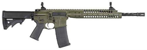 """LWRC IC-A5 5.56 NATO 16"""" Barrel 30RD OD Green"""
