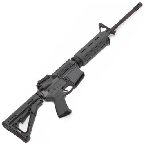 "Spike's Tactical, M4LE 223/5.56 16"" Barrel, Grey, MOE Grip, Magpul CTR Stock & Backup Flip Sight No Magazine"