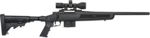 "Mossberg MVP Flex Rifle 7.62mm NATO 18.5"" Medium Bull Fluted Barrel, Picatinny Rail, 3-9x32mm Riflescope With Illuminated Reticle"