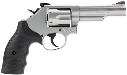 """Smith & Wesson 66 357 Mag 4.25"""" Barrel, Glass Bead Finish, Adjustable Rear Sight, 6 Round"""