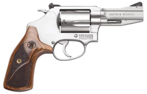 "Smith & Wesson 60 Pro Series 357 Magnum/.38 +P 3"" Barrel Matte SS Laminate Wood Grip"