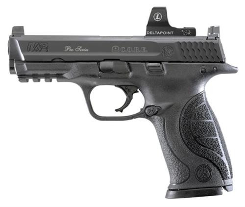"Smith & Wesson M&P 9 Pro with C.O.R.E Double 9mm 4.25"" Barrel, Black, 17rd"