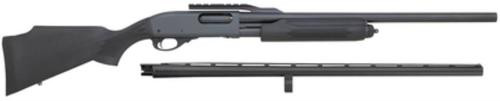 "Remington 870 Express Combo, Pump, 12 Ga, 3"" Chamber, 23"" & 28"" Barrels, Black, Synthetic Stock, 4Rd"